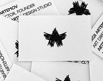 ARTEMOV ARTEL design studio identity
