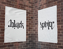 Black / White Ambigram