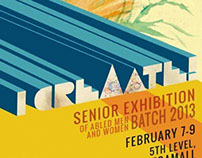 Senior Exhibition 2013 Poster Design
