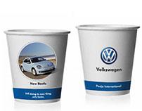 Volkswagen Paper Cup Design