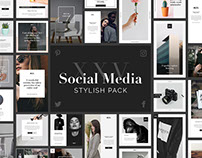 Stylish Social Media Pack