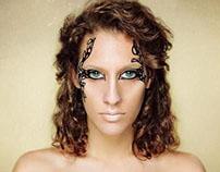 Zaha Hadid Makeup