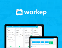 Workep web app - Todo list for teamworks