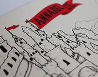 Annabel Album Cover Illustration