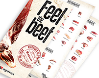 Poster and booklets for international food exhibition