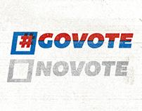 #GoVote campaign artwork
