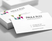Imagen Corporativa para Paula Ruiz