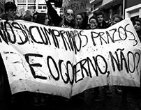 Portuguese School of Arts Protest - Dec, 2012