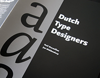 Dutch Type Designers