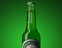 Mockup 3D of Product • Heineken