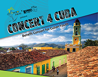 Concert 4 Cuba Marketing Materials