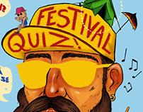 Event Poster - FESTIVAL QUIZ!