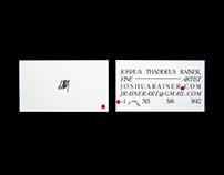 Personal Branding | Joshua Thaddeus Rainer Fine Art