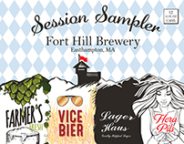 Fort Hill Brewery Session Sampler