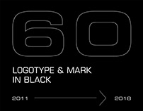 60 Logotype & Marks in black