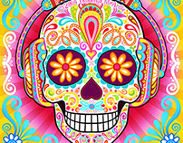 "Sugar Skull - ""Tranquility Beats"" by Thaneeya McArdle"