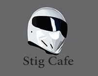 Stig Cafe, Logo Design (School Project)