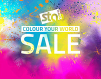 STA Travel - Colour Your World