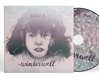 Winterwell CD Package + Booklet Design for Mree