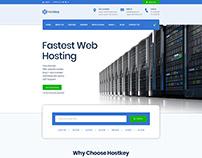 HostKey - WebHosting PSD Template