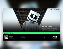 Music Choice Redesign