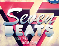 Seven Beats Flyer Template