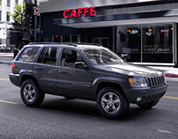 Jeep Grand Cherokee 2000 and Opel Adam