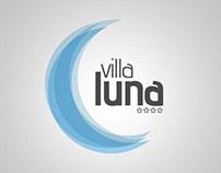 Villa Luna visual identity
