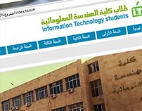 information technology students - Facebook  Cover