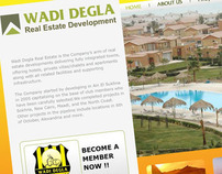 WADI DEGLA REAL STATE DEVELOPMENT WEBSITE