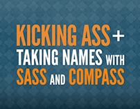 Kicking Ass + Taking Names with Sass & Compass video