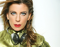 DJ Michelle Pesce, Web Site + Brand ID