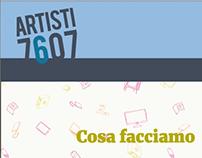 Artisti 7607 - sito web