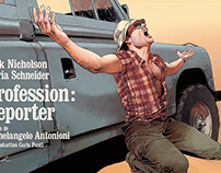 The Passenger/Profession: Reporter Blu-Ray Artwork