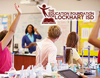 Branding Design: Education Foundation for Lockhart ISD
