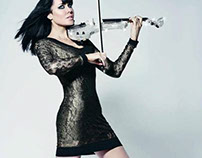 Electric violinist Linzi Stoppard Reiss Dress