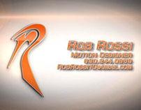 Rob Rossi Demo Reel '12