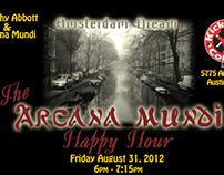 Arcana Mundi Gig Poster