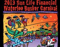 Sun Life Financial Waterloo Busker Carnival 2013