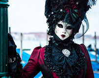 Colors of the Carnival of Venice
