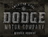 Dodge Vehicles - Apparel Design