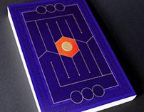 Calligraphic book cover