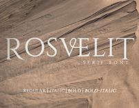 Free Rosvelit Serif Font