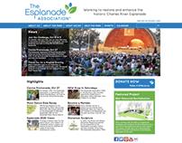 The Esplanade Association Website