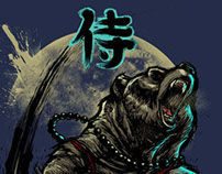 Samurai Bear