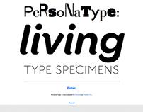 PersonaType: Living Type Specimens