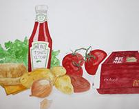 Illustrating a recipe