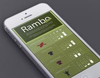 Rambo en infográfia