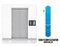1,000 Floor Elevator Interface