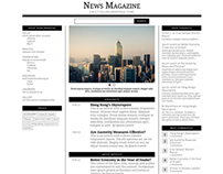 MagaNews – A Responsive Multi-Column WordPress Theme